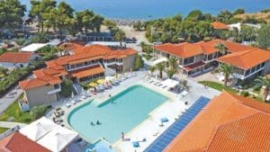Lagomandra Beach Hotels & Spa 4 * Chalcidique