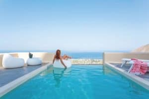 Skyfall Luxury Suites 4 * Santorin